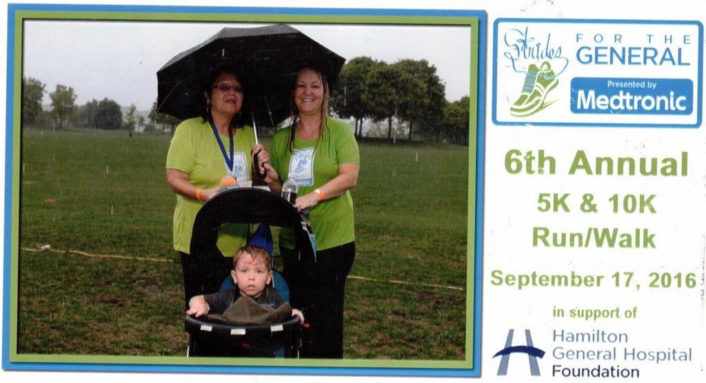 Strides for the General 2016