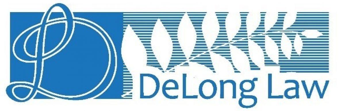 DeLong Law - Banner Logo